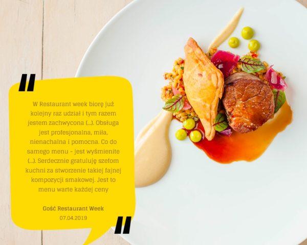 Restaurant - week opinie (3)